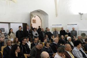 Otvoritev razstave Od puščave do mize (Sinagoga Maribor, 4. 10. 2018). Foto: Domen Kodrič
